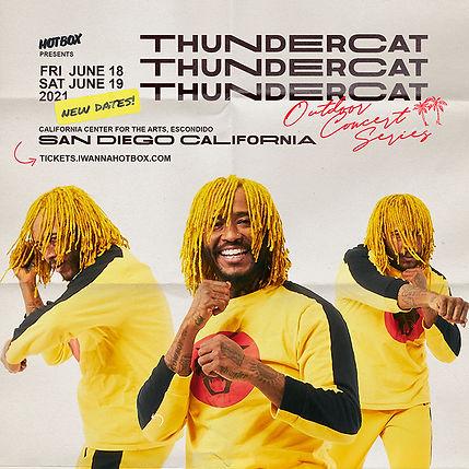 WEB Reschedule Thundercat 2 San Diego Ju