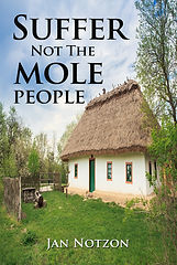 SUFFER NOT THE MOLE PEOPLE Front cover (