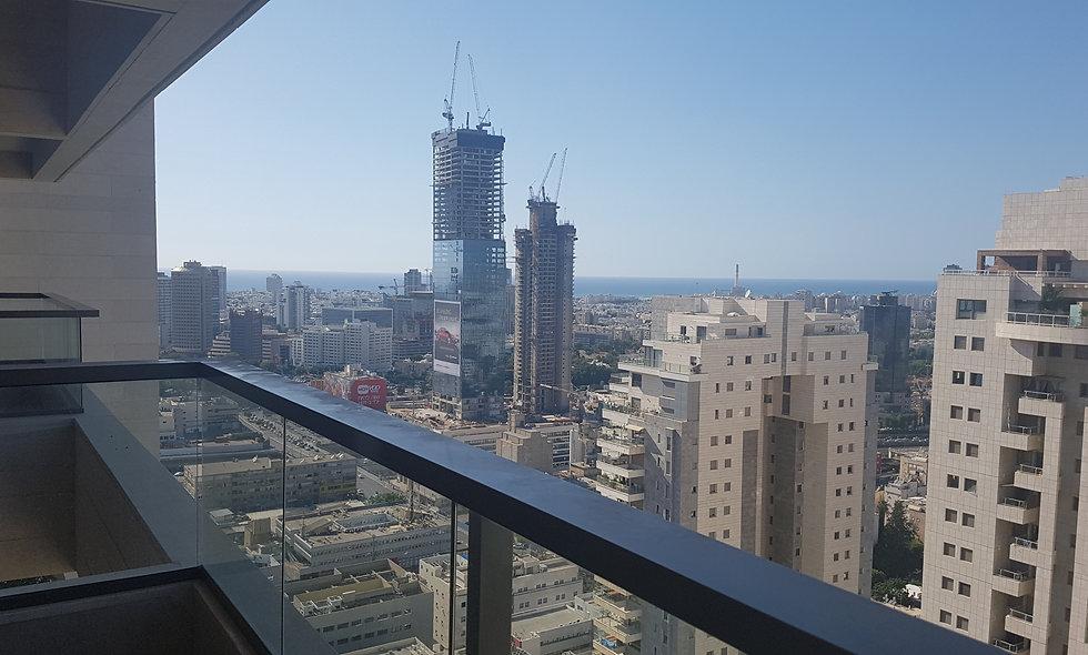 השכרה| דירת 4 חדרים מגדלי תל אביב