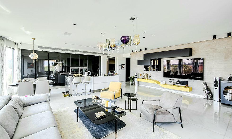 פרויקט בלו תל אביב - דירת פאר