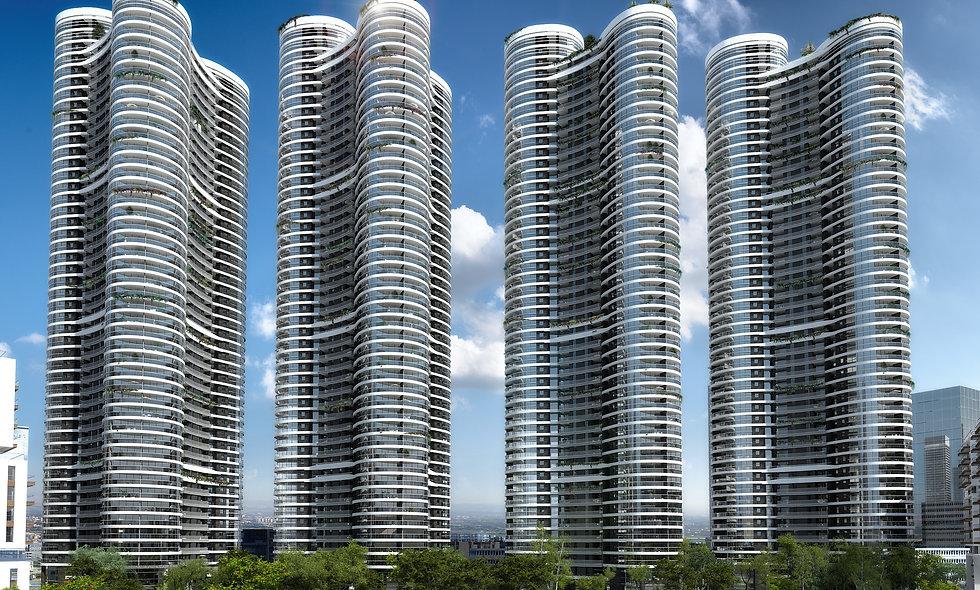 דירת 4 חדרים למכירה בפרויקט גינדי תל אביב |מגדל 2