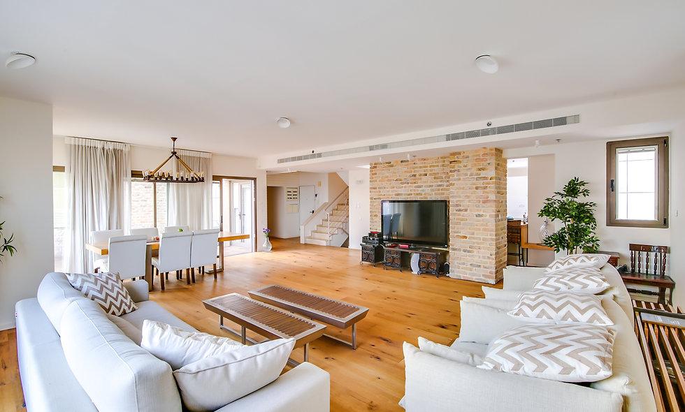 פנטהאוס למכירה במגדלי תל אביב|5.5 חדרים Villa InThe Sky