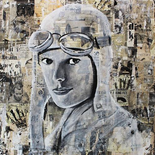Flying Solo - Amelia Earhart