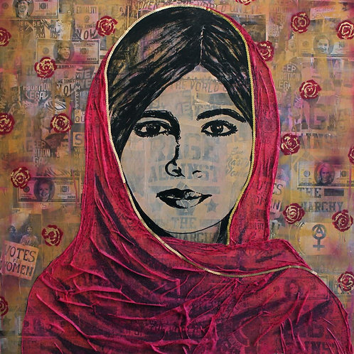 Malala, Fight Like a Girl (20% of sales go to Malala Fund)