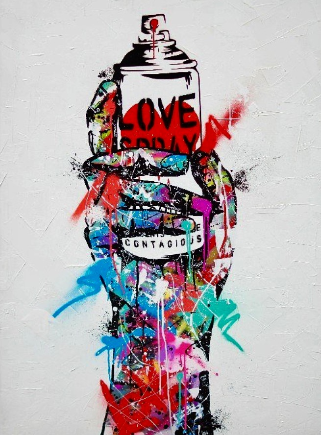 Spray Love - Collaboration with Sr.