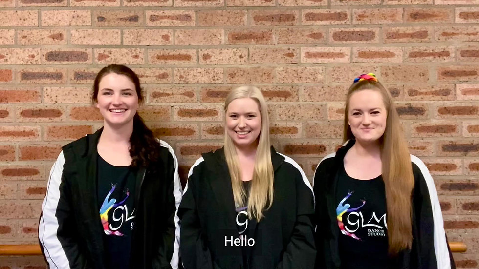 A welcome message from the GLM Dance Studio Hornsby Directors