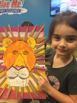 Family Fun Night Lion Project