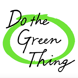 Get educated on how you can do the Green Thing by looking at life a little differently.