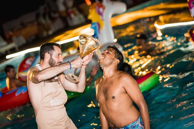 Aliza & Adeel Mehndi & Pool Party (246 o