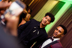 Students at Prom from Braeburn Schoo