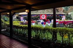 Chaine event at Jacaranda Hotel Nair