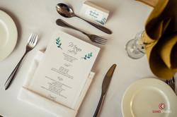 Table Setting at prom Braeburn