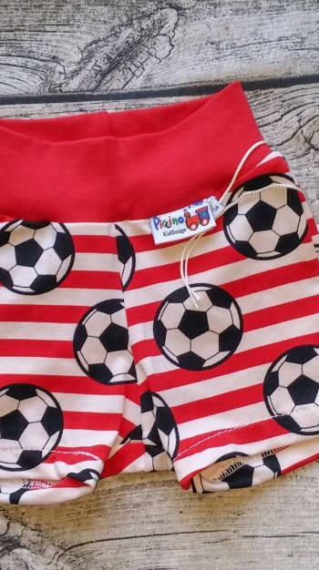 56_Short_Fußball_rotweiß