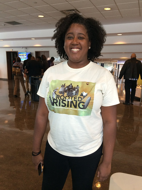 2017 Rooted & Rising t-shirt