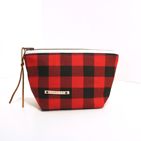 Pouchlet - Buffalo Plaid