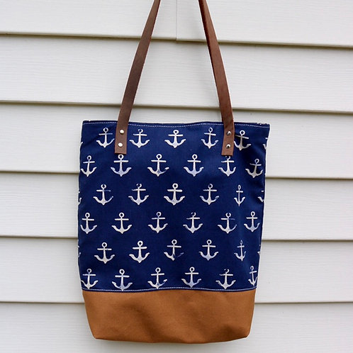 Slouchy Market Tote - Anchor