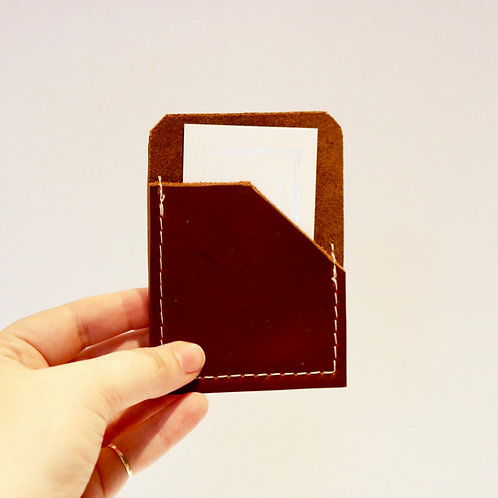 Card Holder - Mahogany