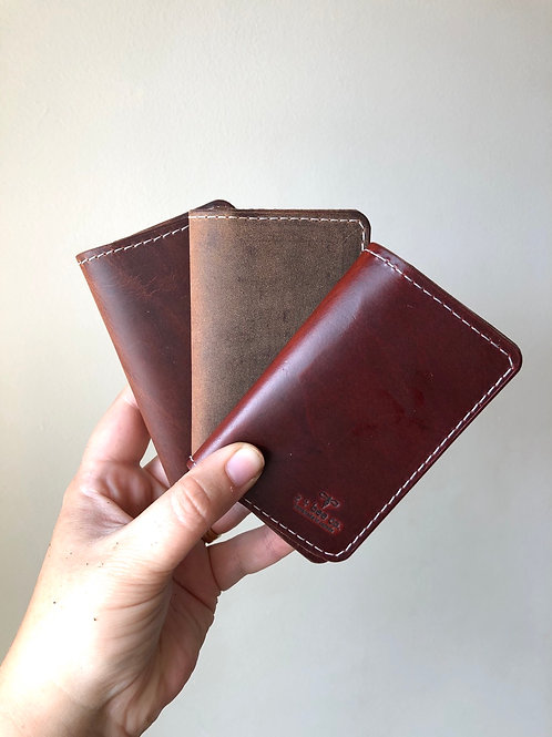 The Basic Bifold - Rustic Brown