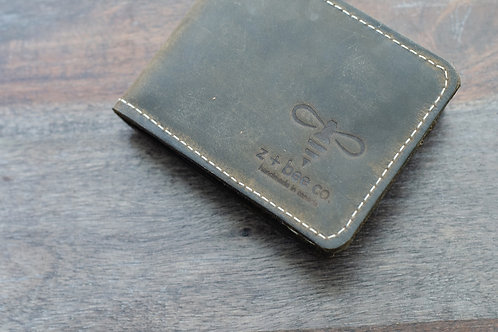 The MC Wallet - Black Olive