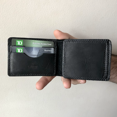 The MC Wallet in Ebony