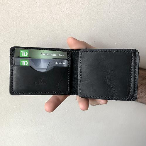 The MC Wallet in Ebony