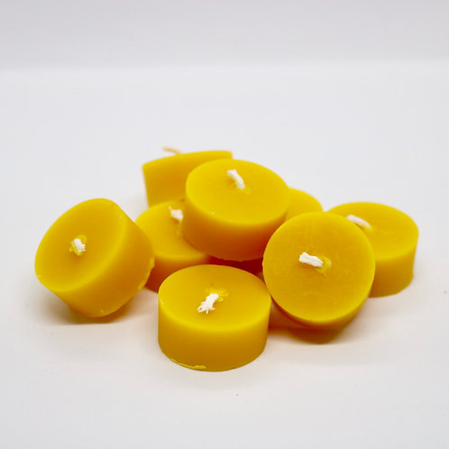 Beeswax Tealights Set/8 - Zero Waste