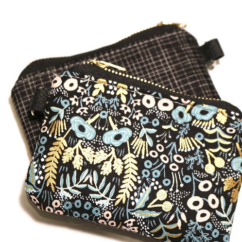 The Little Card Pouch - Black Menagerie