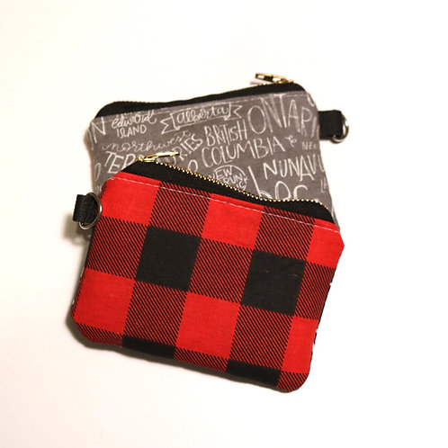 The Little Card Pouch - Buffalo Canadiana
