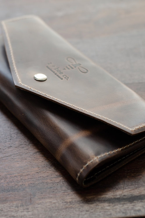 The Mason Wallet - Cocoa