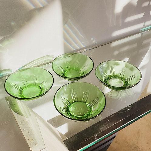 Compoteras de vidrio