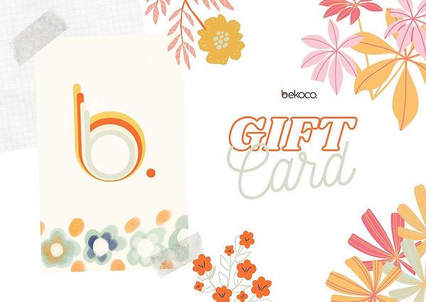 bekoco gift Card primavera verano..jpg