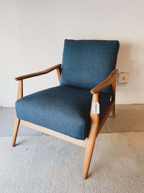 Sillón Individual blue Danish