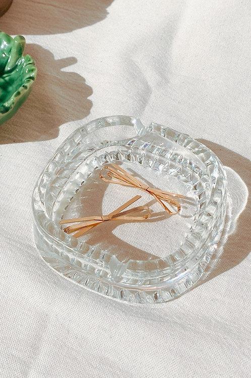 Despojador/cenicero e vidrio