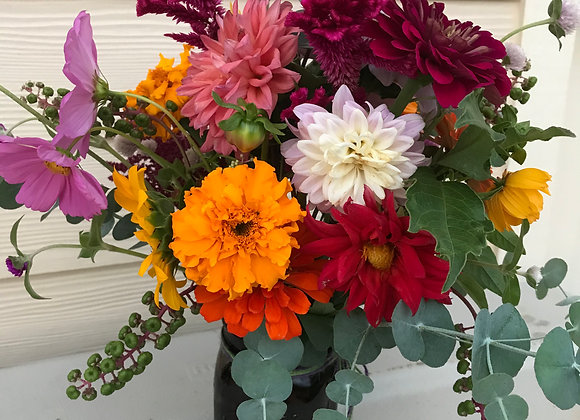 Weekly Bouquet Subscription (Large Jar)