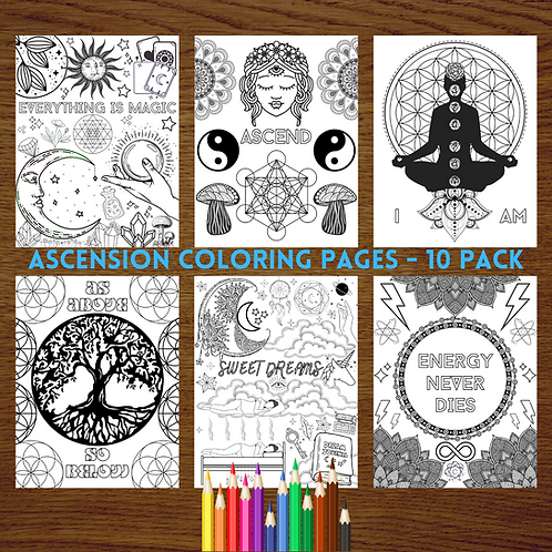 Ascension Printable Coloring Pages
