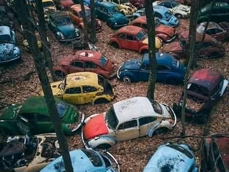 Saturday Writing Prompt - Car Graveyard - 6th June