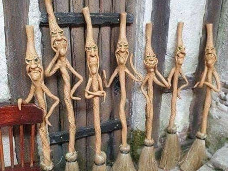 Saturday Writing Prompt -23rd January - The Walking Sticks