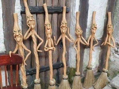 Saturday Writing Prompt -23rd January - The Walking Sticks