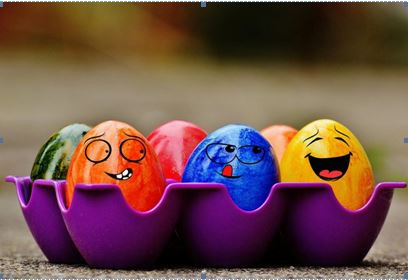 Saturday Writing Prompt - 4th April - Painted Eggs