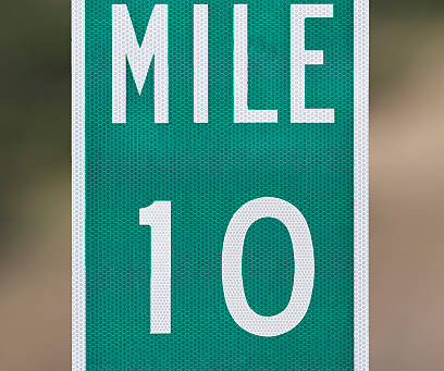 Saturday Writing Prompt - 11th January - 10 Miles
