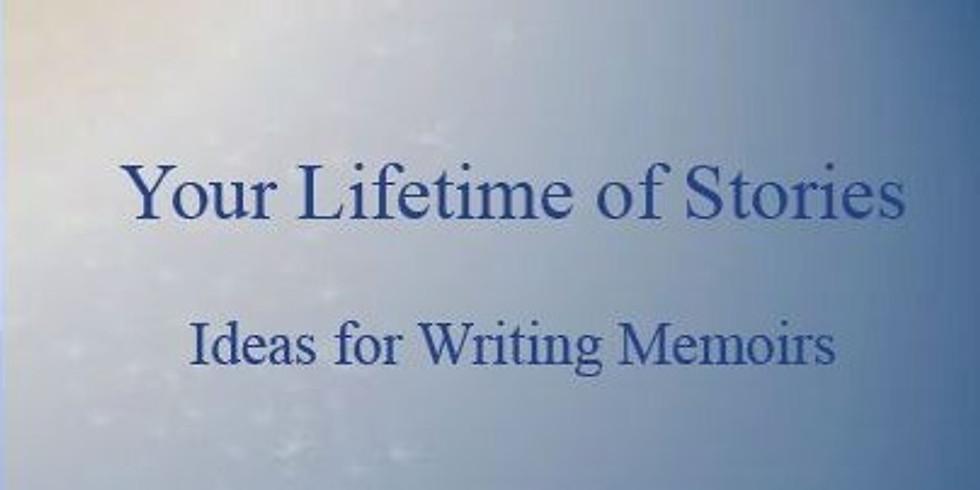 Workshop 1 - Your Lifetime of Stories