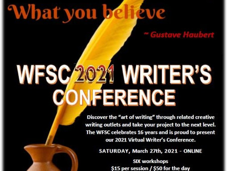 Saturday Writing Prompt -27th March - Writing Conference Report
