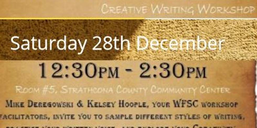 Explore Your Creativity | Creative Writing Workshop