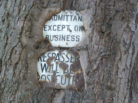 Saturday Writing Prompt -29th May -Old Sign