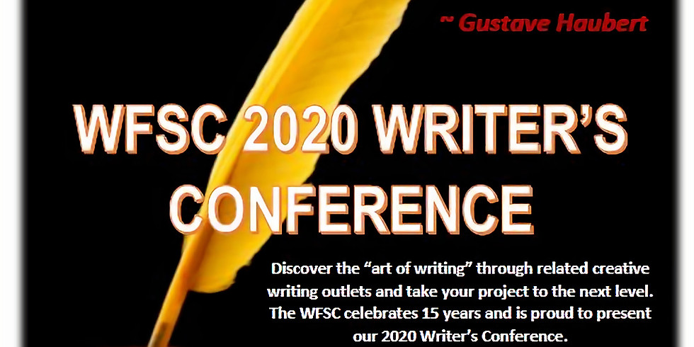The Art of Writing Conference   CANCELLED