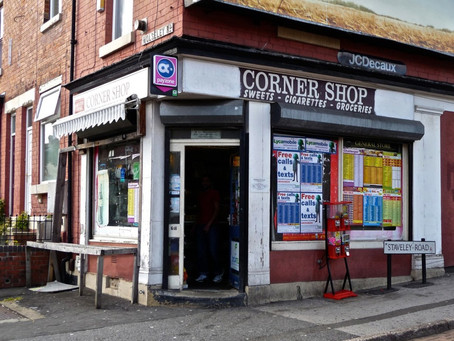 Saturday Writing Prompt - Corner Store -22nd August
