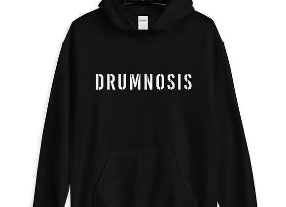 Drumnosis Unisex Black Hoodie