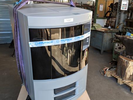 Historischer 3D Drucker im 3-Städte-Depot darf wieder fertigen.