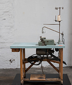 Industrie 3-Fadennähmaschine