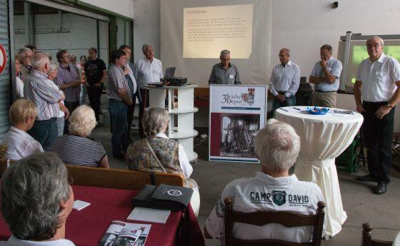 Auftaktveranstaltung mit den Bürgermeistern der Städte Radevormwald, Hückeswagen, Wipperfürth